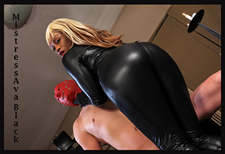 Mistress Ava Black's bottom
